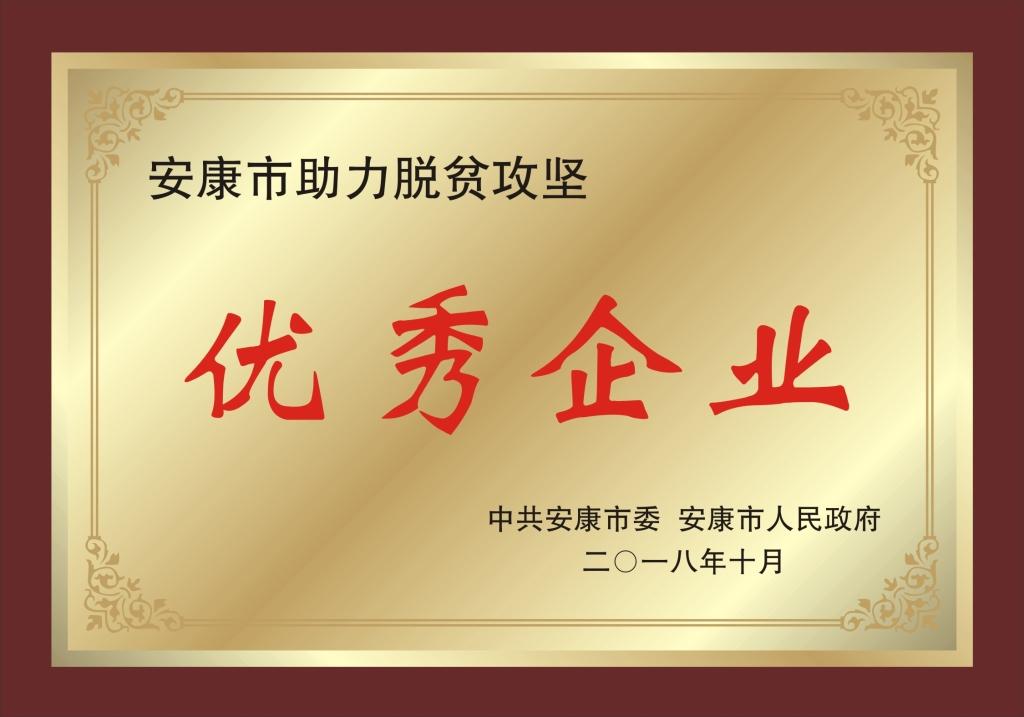 """阳晨公司在全市助力脱贫攻坚表彰会中被授予 """"优秀企业""""和""""优秀企业家""""称号"""